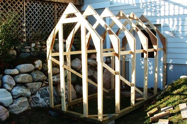Imagen de casita jardín para el Homemade