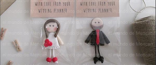 Figuritas para bodas hechas a mano