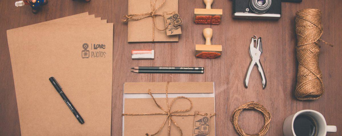 manualidades con sellos de goma